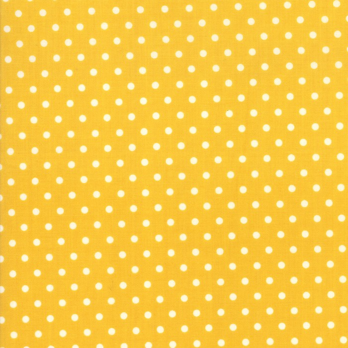 Moda Fabric Bubble Pop Dot Yellow