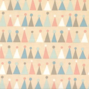 Small Image of Moda Fabric Corner Of 5th And Fun Printed Cotton Hats Rosie Cheeks