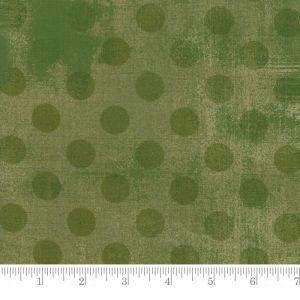 Small Image of Moda Fabric Grunge Hits The Spot Very Green