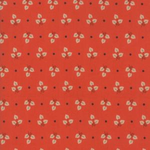 Large Picture of Moda Fabric 101 Maple Street Maple Leaves Persimmon