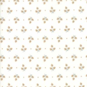 Large Picture of Moda Fabric 101 Maple Street Maple Leaves Marsh Cream