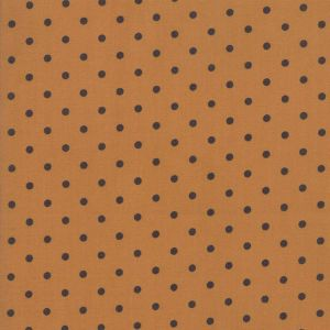 Large Picture of Moda Fabric 101 Maple Street Deep Dish Dots Acorn