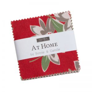 Moda At Home Reds Mini Charm