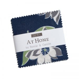 Moda At Home Blues Mini Charm