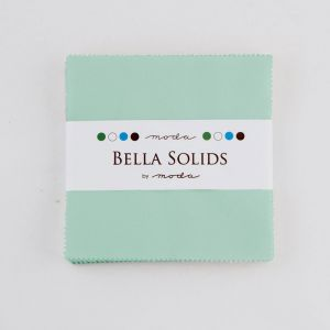 Large Image of Moda Fabric Bella Solids Charm Pack Hometown Sky