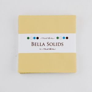 Large Image of Moda Fabric Bella Solids Charm Pack Parchment