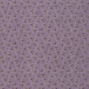 Small Image of Moda Fabric Sweet Violet Tiny Floral Lilac