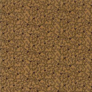 Thumbnail Picture of Moda Fabric Spice It Up Buds Vines Golden Yellow