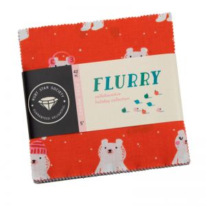 Ruby Star Flurry Charm Pack
