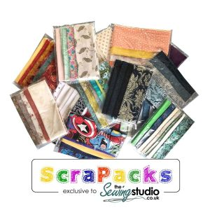 The Sewing Studio Scrap Pack 1/2 lb of Fabric