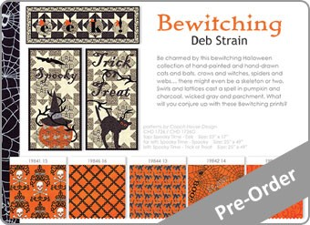 Bewitching Fabric Range
