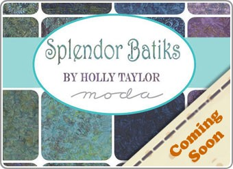 Splendor Batiks Light Range