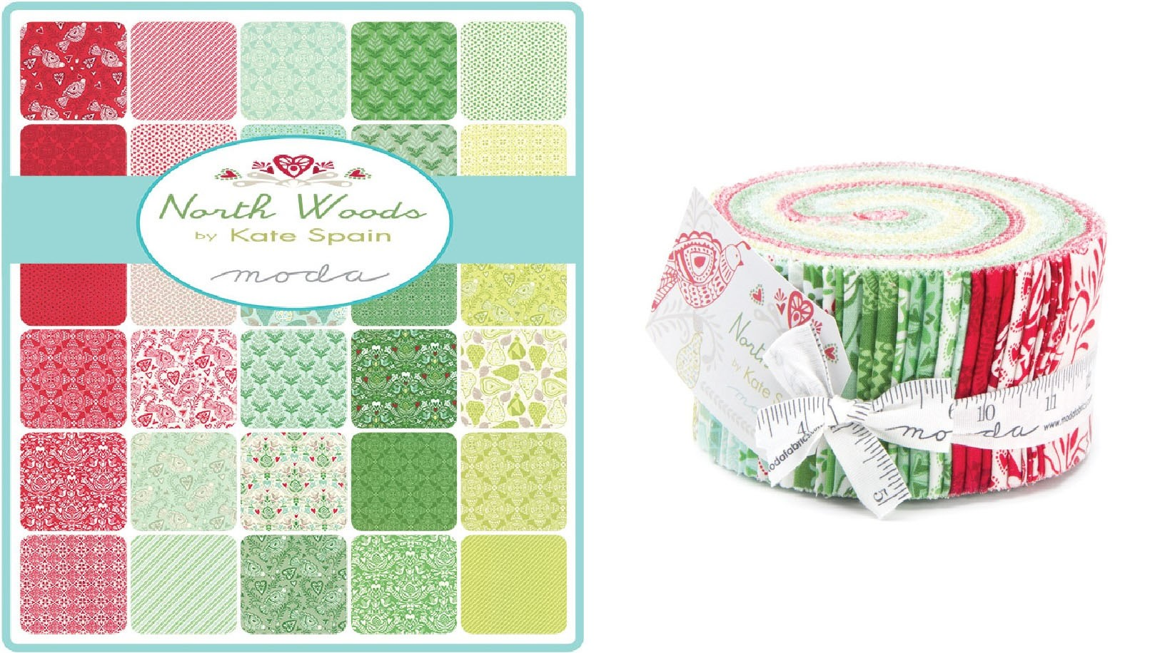 Purchase Moda Christmas Fabric North Woods Jelly Roll for only ...