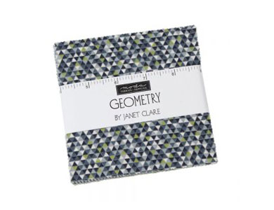 Moda Geometry Quilting Fabric Charm Pack