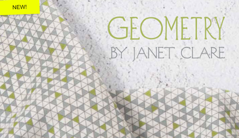Moda Geometry Quilting Fabric Banner